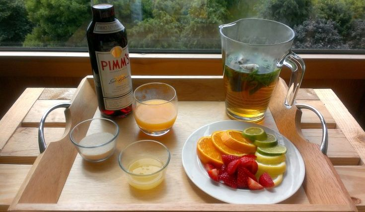How to Make Pimms Iced Tea - Recipe on Blog!