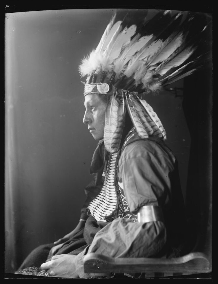 1898: Portraits of Native Americans from 'Buffalo Bill's Wild West' show