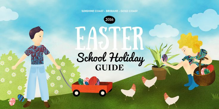 EASTER: School Holiday Guide 2016 - Kids on the Coast / Kids in the City #easter #easterfun #easterholiday