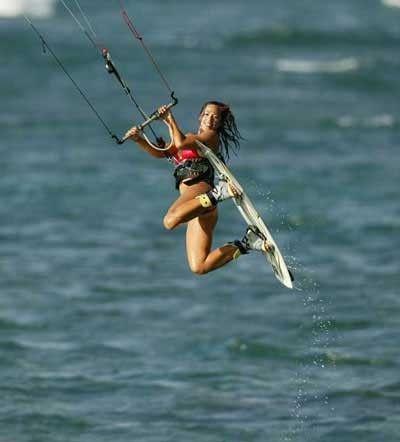Kite Surfing!
