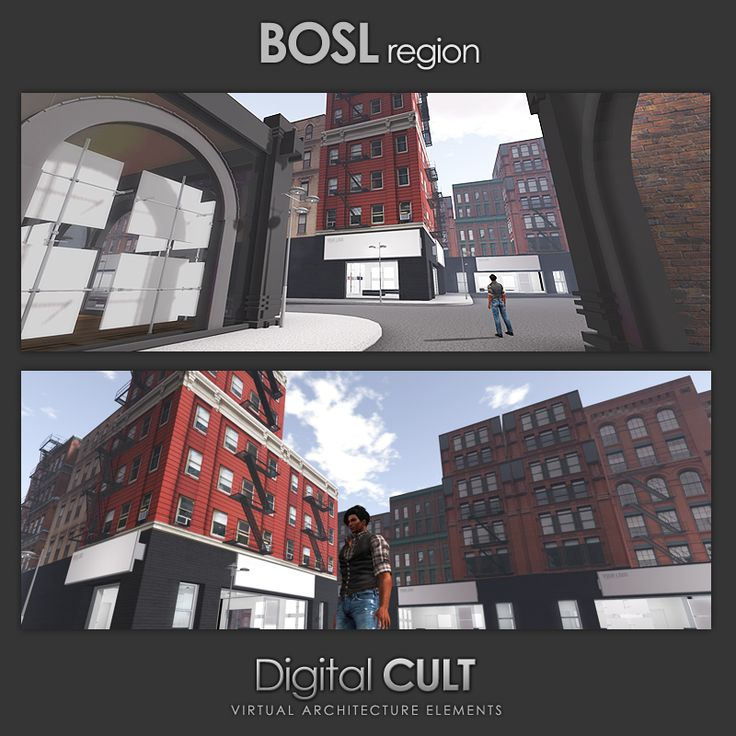 "Digital CULT - Virtual Reality lab - here's a new CUSTOM building project --] for Second Life ""BOSL region"" Website: http://www.mydigitalcult.com/ SL showroom: http://maps.secondlife.com/secondlife/New%20ITLAND/121/140/32 SL Marketplace showroom: http://marketplace.secondlife.com/stores/28867"