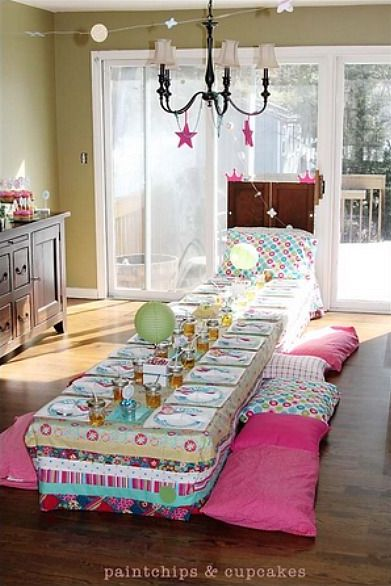 While the idea of having a group of kids camping out in your living room or backyard may not be your idea of a fun night, however the reality is kids simply LOVE having slumber parties with their friends and it's inevitable they will ask you to have one at some point.  To help ease some of the stress, we've put together a bunch of great ideas from around the web which will guarantee your next kids slumber party will be a huge success.#kids #kidsparty #slumberparty #birthday