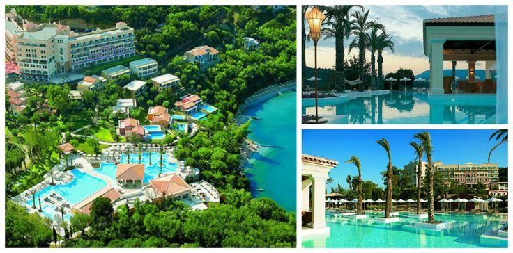 Eva Palace, Grecotel #Corfu Οι πιο εντυπωσιακές πισίνες ξενοδοχείων στην Ελλάδα…