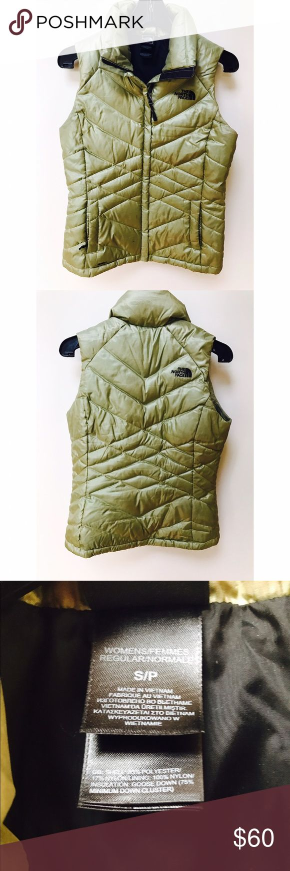 Gold Women's North Face Vest (size small) Great condition lightly used women's vest with goose down fill (very warm for winter!) The North Face Jackets & Coats Vests
