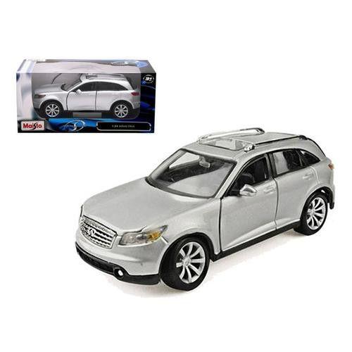 Infiniti FX45 Silver 1/24 Diecast Model Car by Maisto