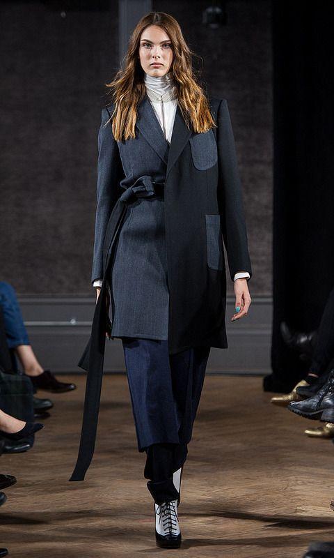 Menswear to womenswear and expert tailoring at Antonio Azzuolo #fashionweek