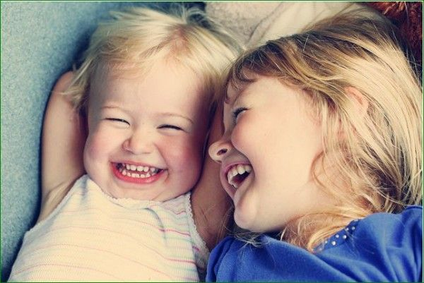 There's nothing like children's laughter : )