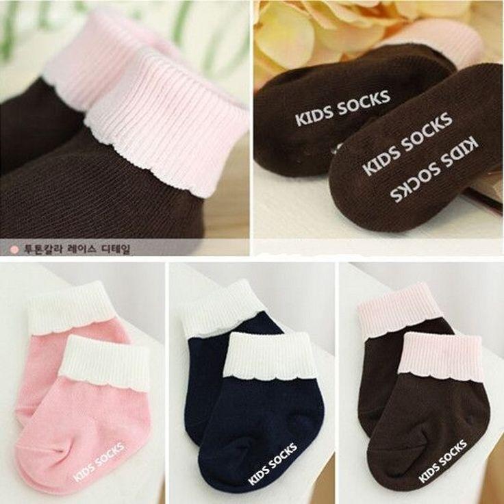 DHL EMS Free Shipping lovely Baby Girls Ruffles Infants Socks Children Socks Soft Korea Style Infants Baby Wear