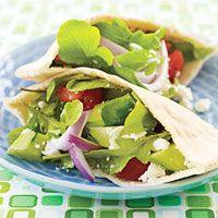gazpacho salad with feta