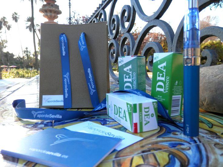#Cigarrilloselectronicos de Vapor de Sevilla y líquidos DEA Flavor. ¿Vapeas con nosotros? Visita nuestra tienda online. http://www.vapordesevilla.es/