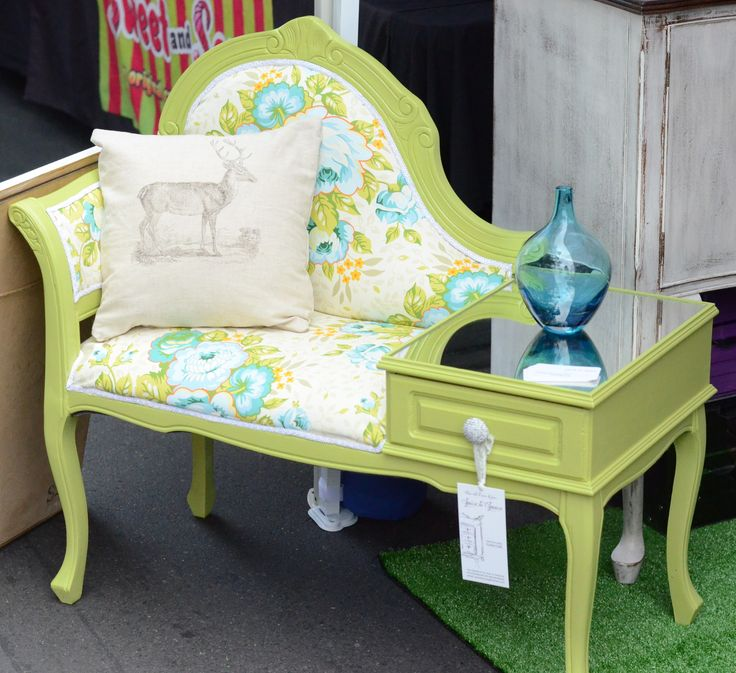 Gossip Chair   Telephone Table  www.facebook.com/spicetospace