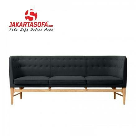 Black edition of My Restricted Sofa. Www.jakartasofa.com