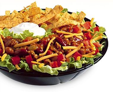 Hey now, who doesnt want one of Wendys new Southwest Salad bowls! El Caliente!