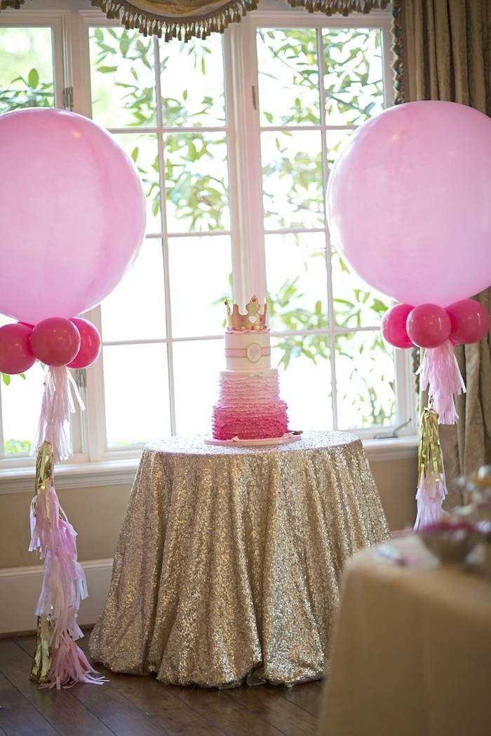 1000 ideas about royal princess birthday on pinterest for Princess dekoration