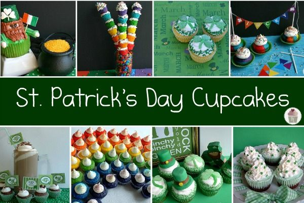 St. Patrick's Day's Cupcake Round Up