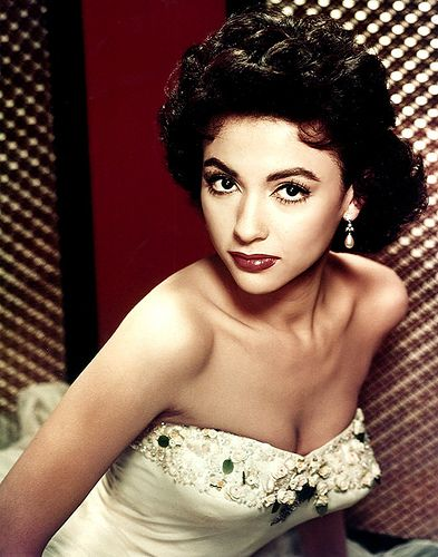 "A young Rita Moreno. They told her she looked like a ""Spanish Elizabeth Taylor"""
