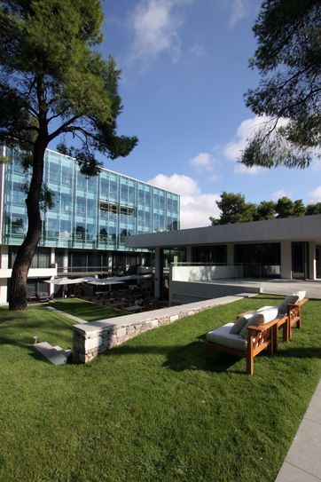 Life Gallery #hotel #Athens exterior view...