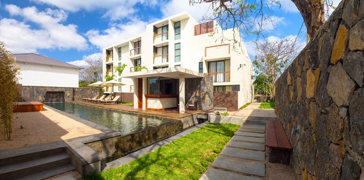 The apartment hotel is a modern apartment complex with elegant and comfortable one and two bedroom apartments available on a self-catering basis for 2-4 people.  The stylish interior design with tasteful colours and harmonious decoration lend these luxurious apartments a cosy atmosphere.#Mauritius #Apartments #Pool I ❤ MAURITIUS! ツ http://isla-mauricia.com/objects-mauritius/mauritius-holiday-rentals-trou-aux-biches-beach-across-coastal-road-en/