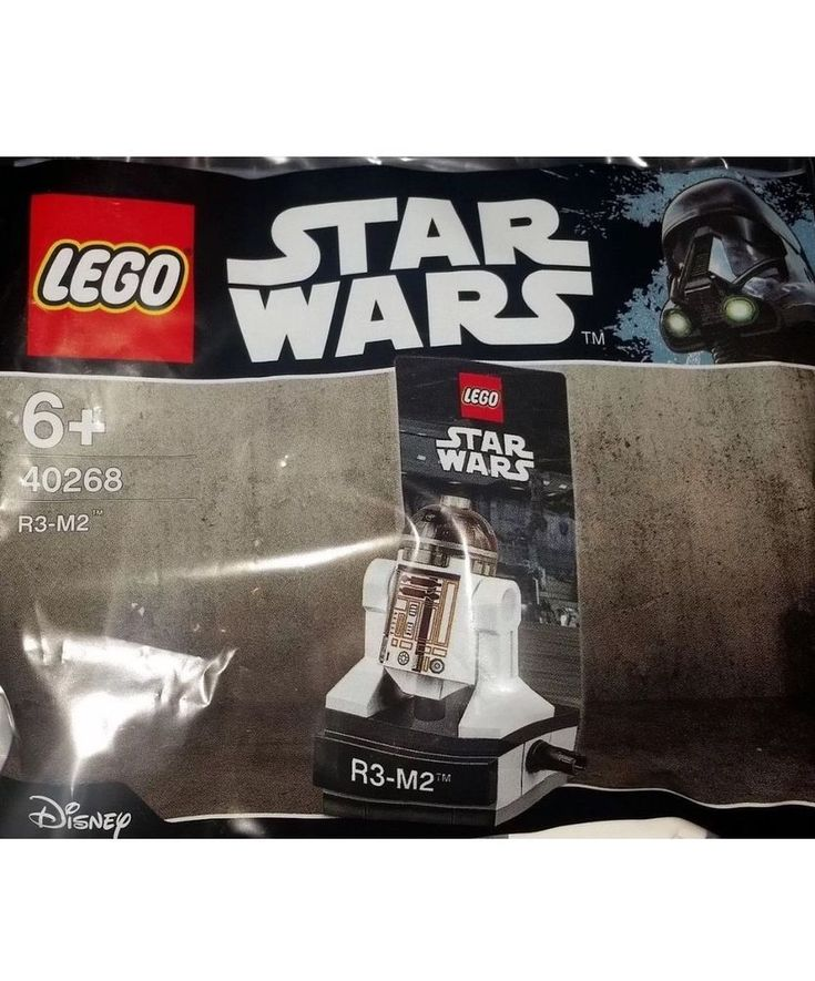 LEGO Star Wars 40268 R3-M2 Exclusive Rare Figure!! New/Sealed!! 22pc  #LEGO