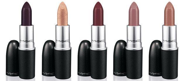 Los labiales de la nueva colección de #MAC *.* Enamorada del Sweet Succulencee (el primero) y el JustABite (el tercero). ¿Por qué me gustarán tanto los colores tan oscuros con lo pálida que soy? #makeup #lipstick #makeup