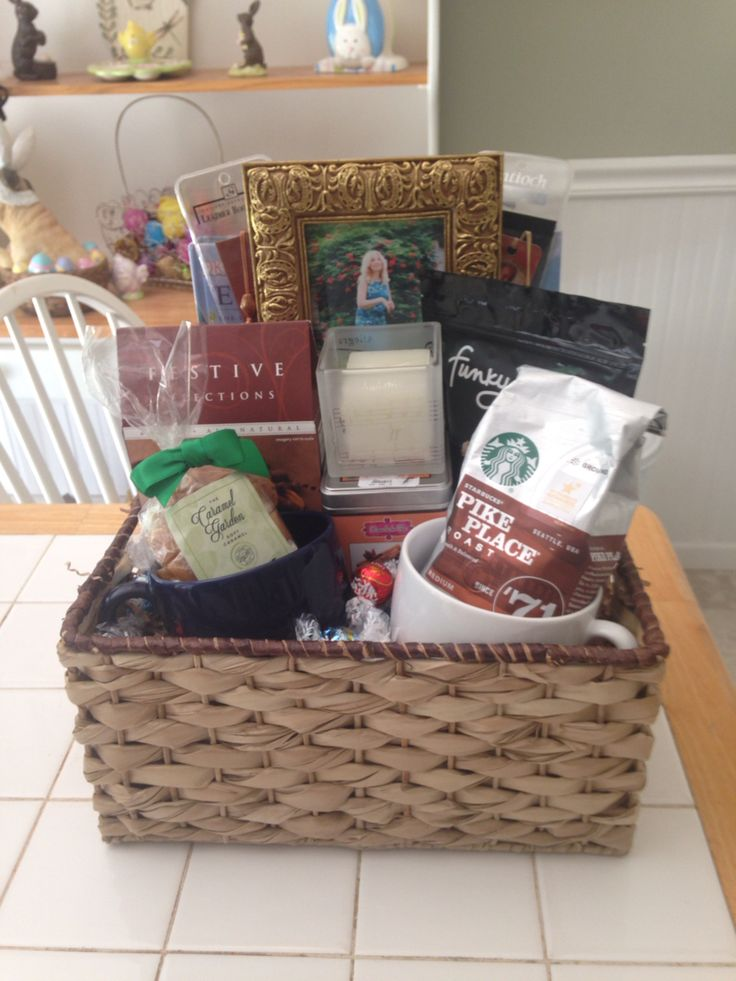 Sympathy gift basket for friend who lost their mother.