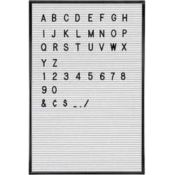 Letterbord tekst wit – Letterbak