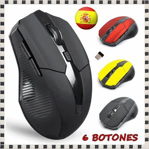 a raton inalambrico mouse wireless gaming optico dpi mac os pc usb 24 ghz dpi xp