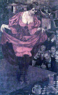 Tingeltangel von Hans Baluschek