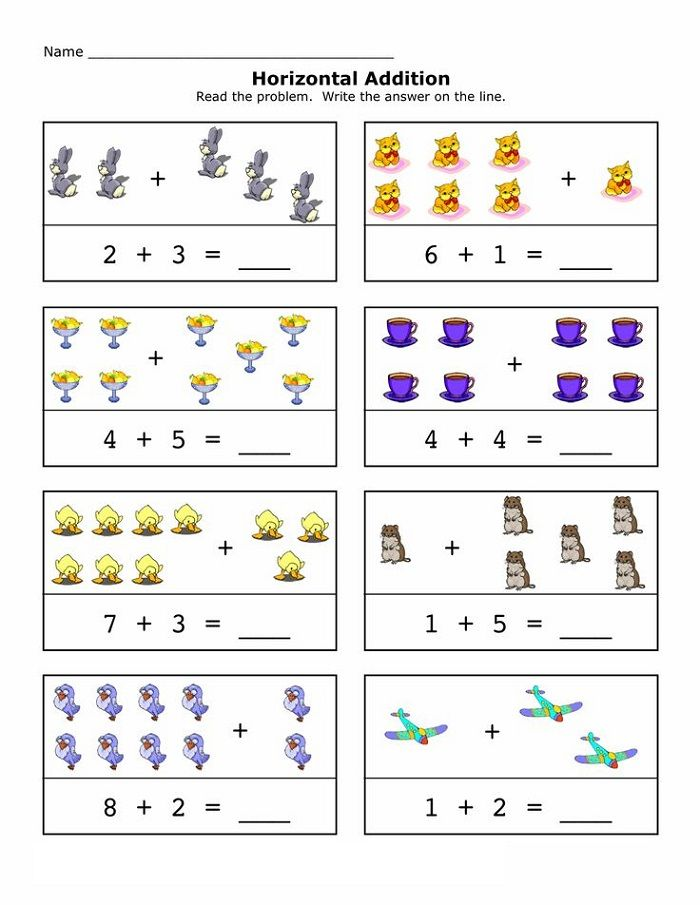 Reception Maths Worksheets Printable Horizontal In 2020 Reception Maths Math Worksheet Learning Worksheets