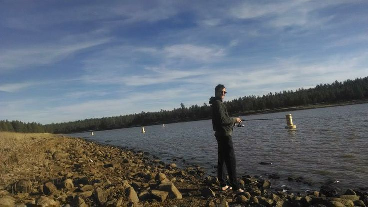 Fishing at upper lake mary in flagstaff az february 22 for Fishing in flagstaff