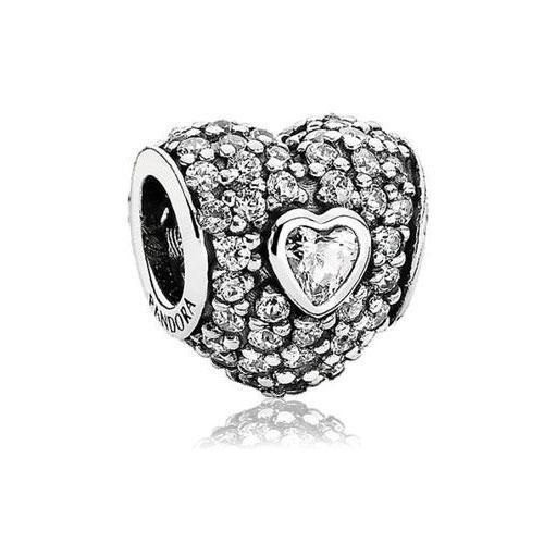 Pandora In My Heart Charm... Need this to add to my beautiful Pandora bracelet his mom got me!