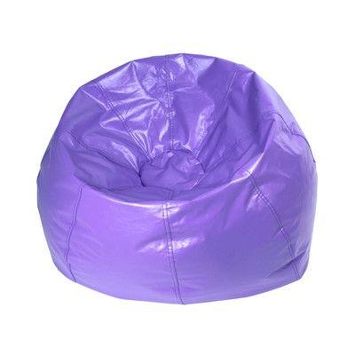 Classic Bean Bag Chair Color Purple Matte