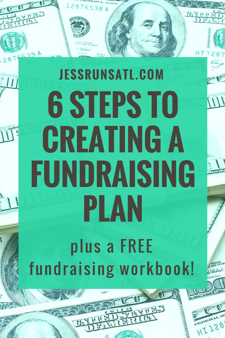 Six steps to creating a fundraising plan - plus a free fundraising workbook! There are some great tips here for fundraising for charity running, charity marathons, or charity triathlons.