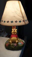 Disney Lamp Winnie Pooh Bear Hampton Bay Vintage Childs Room Night Light http://www.ebay.com/itm/321517460907