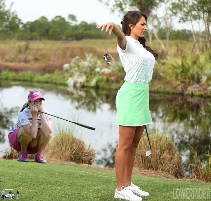 Giantess Holly Sonders golfing by lowerrider on DeviantArt .    I said we are playing through!