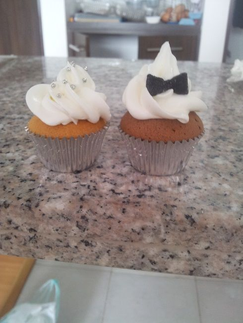 Matrimonio de cupcakes :)