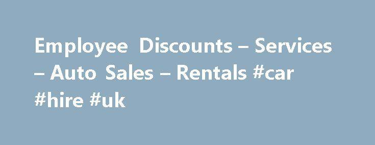 Avis Car Sales Employee Discount