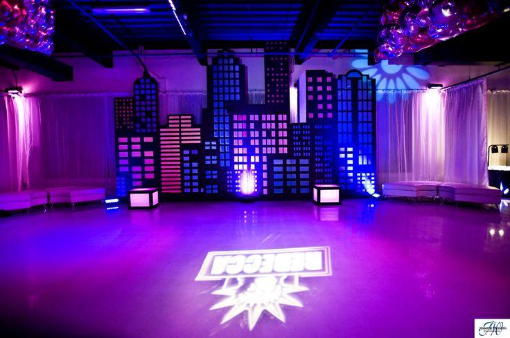 New York Themed Mitzvah Heaven Event Center Social