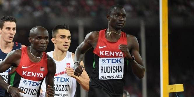 Athlé - JO - Le Kenya avec David Rudisha