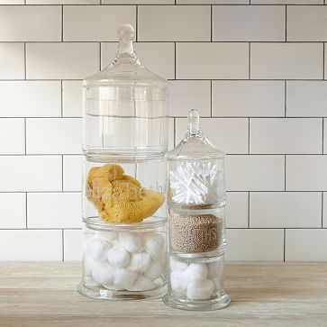 I love the Stacked Apothecary Jars on westelm.com