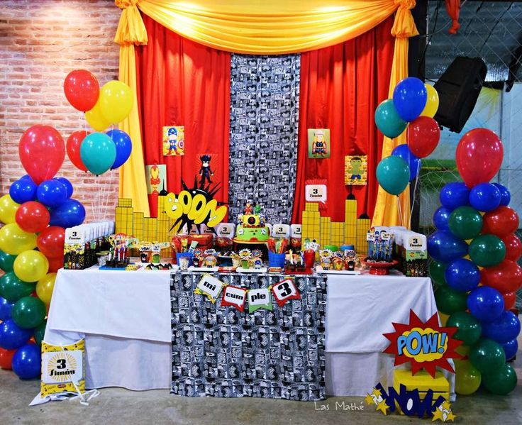 Th Birthday Party Decoration Ideas