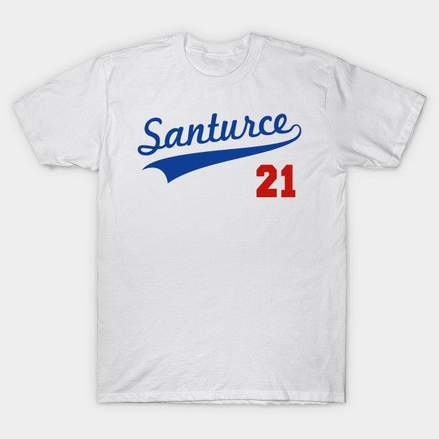promo code e88de 5dc15 Santurce 21 Baseball Jersey Shirt Roberto Clemente Puerto ...