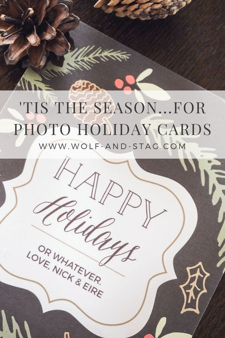 In this blog post, I discover the huge array of personalised Christmas and holiday cards and invites you can make with Basic Invite | Wolf & Stag