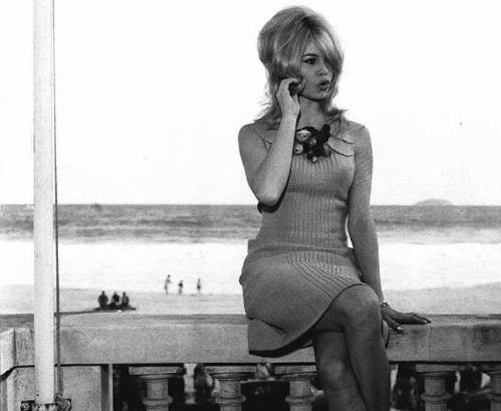 Brigitte Bardot at The Copacabana Palace Hotel, 1964