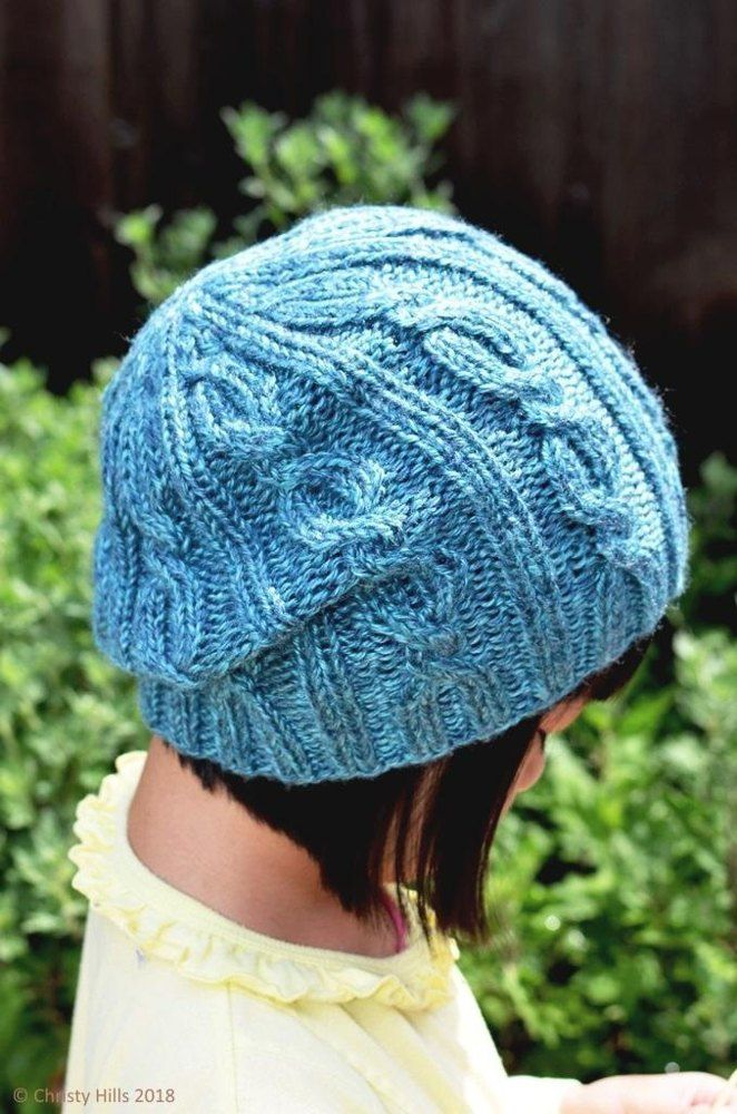 332119f62bc Classic Cable Hat Knitting Pattern