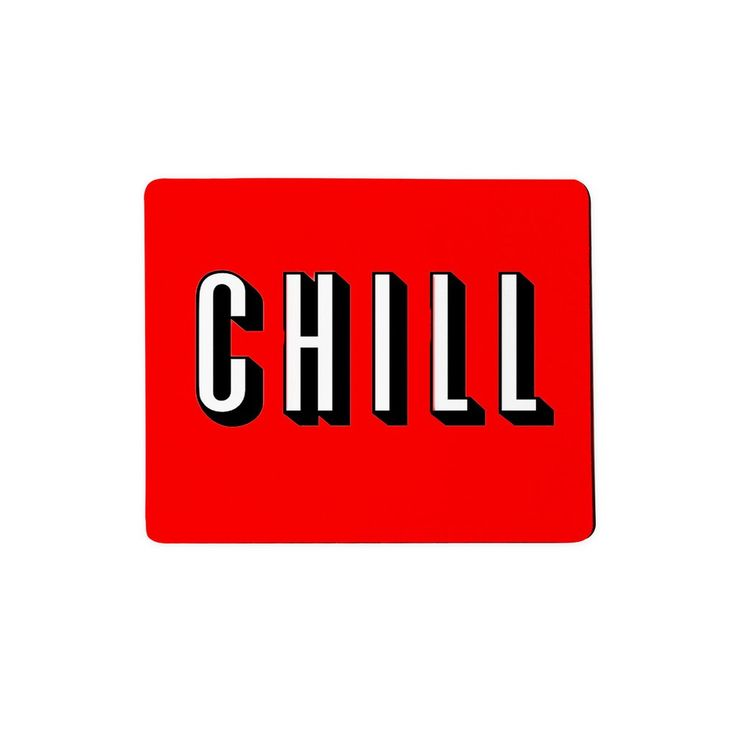 Chill Mousepad  It's late. You're streaming Madmen. You have no wear to put your mouse. Just chill. We got you and your flix.