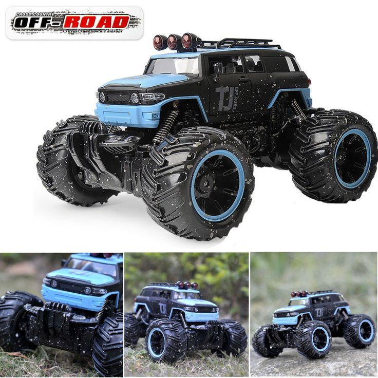$34 1:16 RC Remote Control Monster Truck Toy Racing Car Electric RTR For Kids Gifts #Unbranded