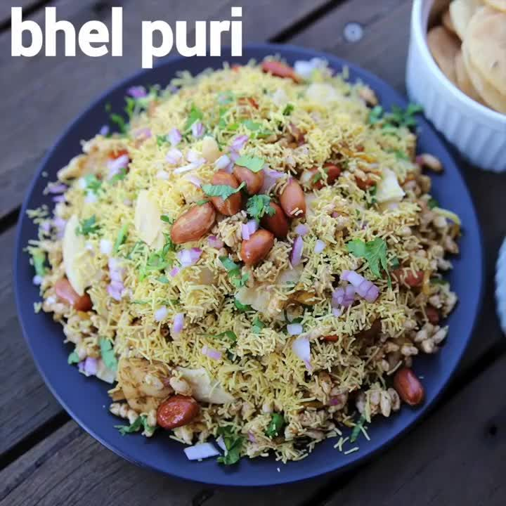 Hebbar S Kitchen On Instagram Bhel Puri Recipe Bhel Poori Full