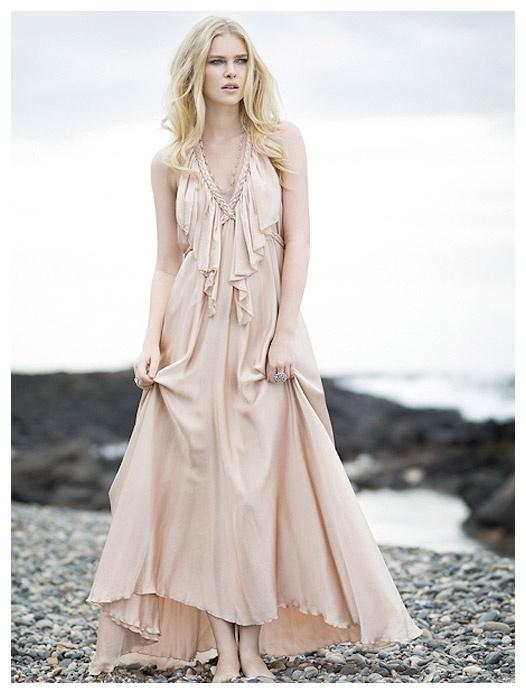 Lisa Brown Poppy V-Frill. LOVE this dress