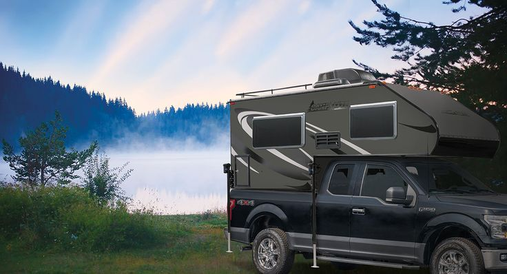 CampLite 6.8 Ultra Lightweight Truck Camper Floorplan | Livin' Lite